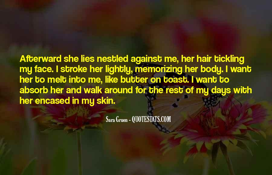 Touch My Body Quotes #792832