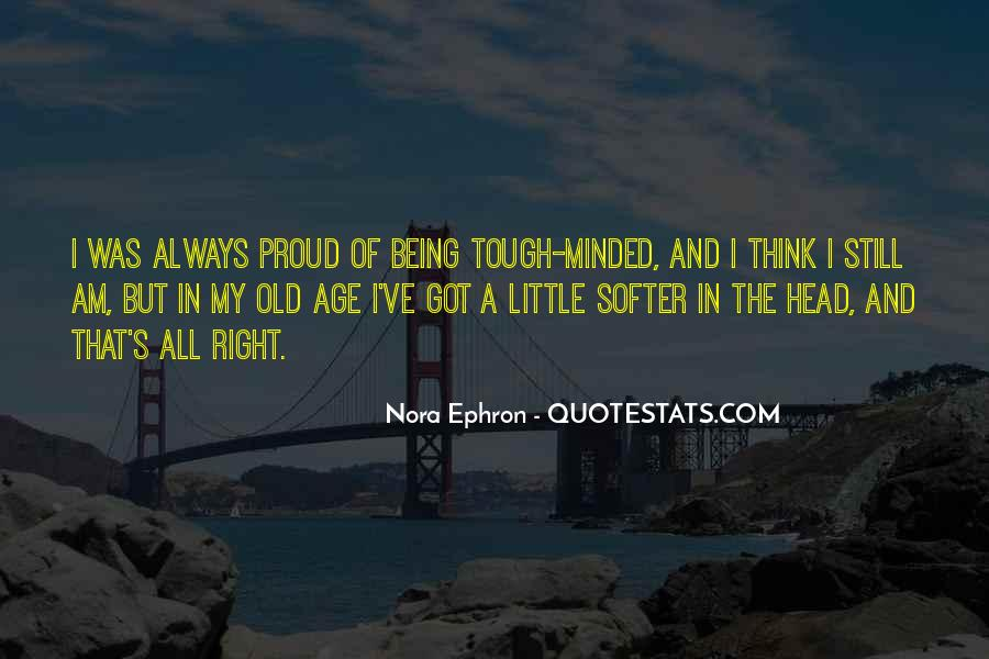 Tough Minded Quotes #695096