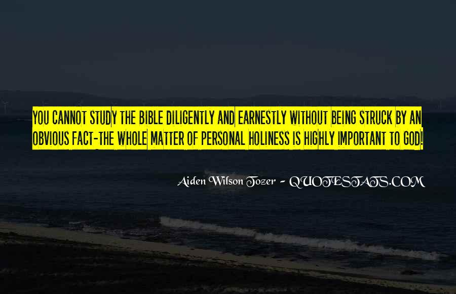 Tozer Holiness Quotes #1024669