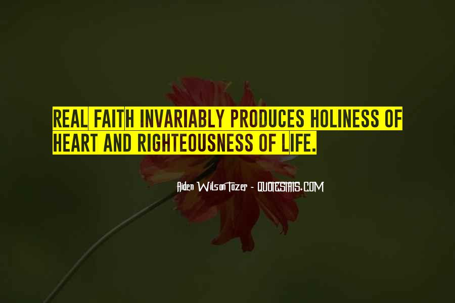 Tozer Holiness Quotes #334331