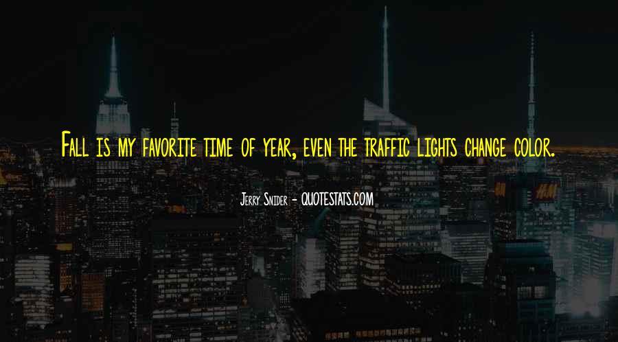 Traffic Lights Quotes #1220031