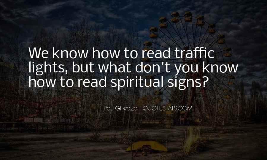 Traffic Lights Quotes #1462476