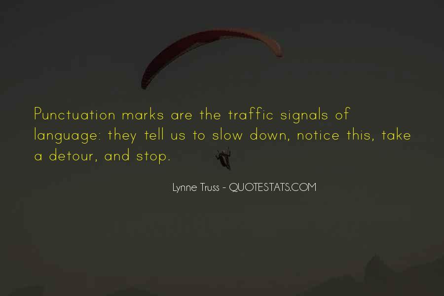 Traffic Signals Quotes #625370