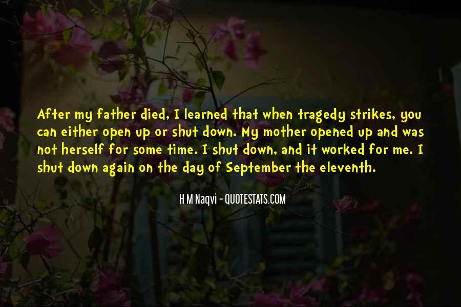 Tragedy Strikes Quotes #677772