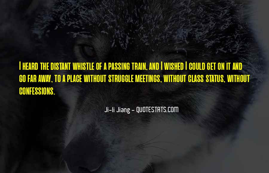 Train Whistle Quotes #1165489