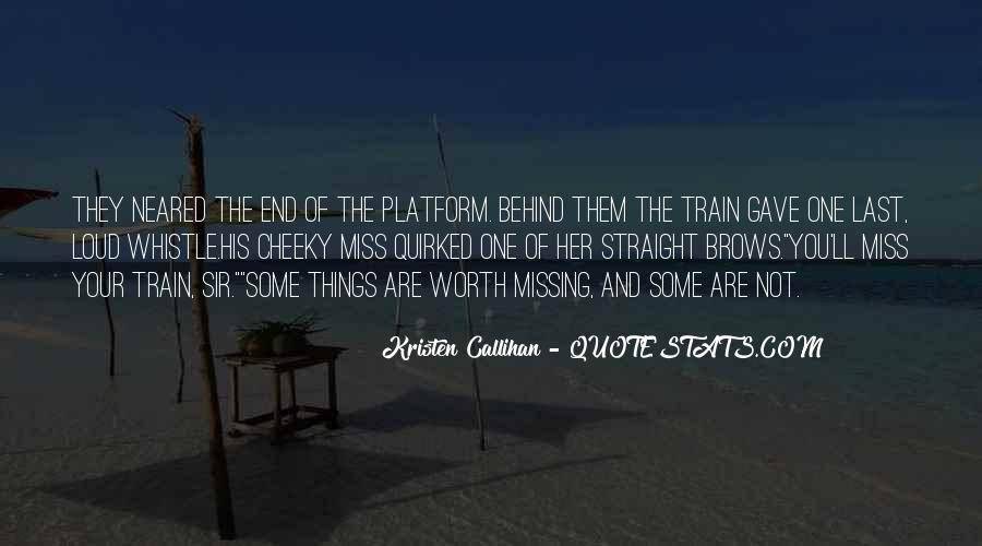 Train Whistle Quotes #649738