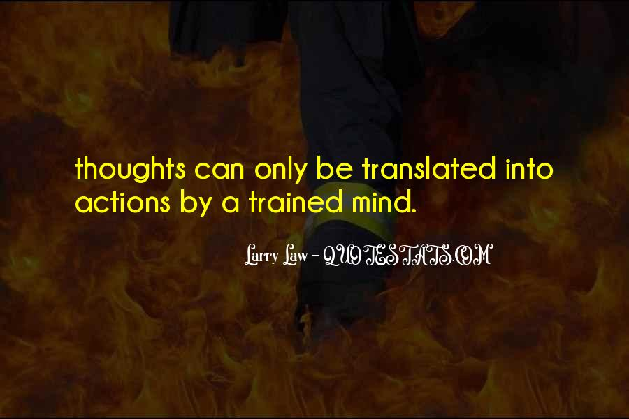 Trained Mind Quotes #1128709