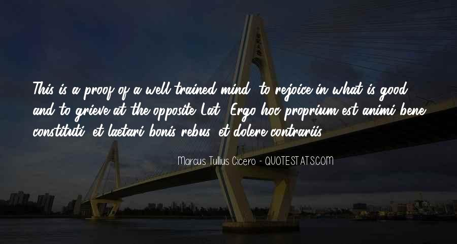 Trained Mind Quotes #1262074