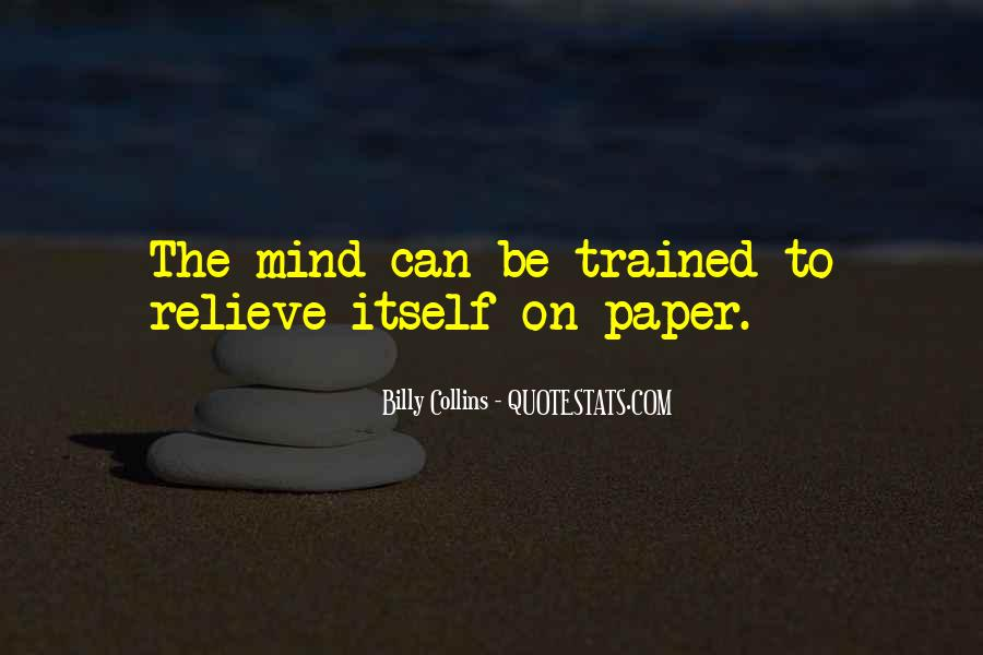 Trained Mind Quotes #1278467