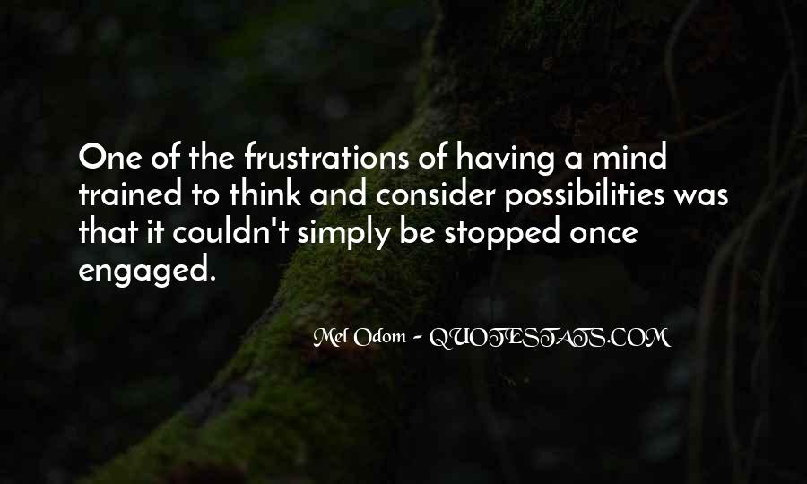 Trained Mind Quotes #1289928