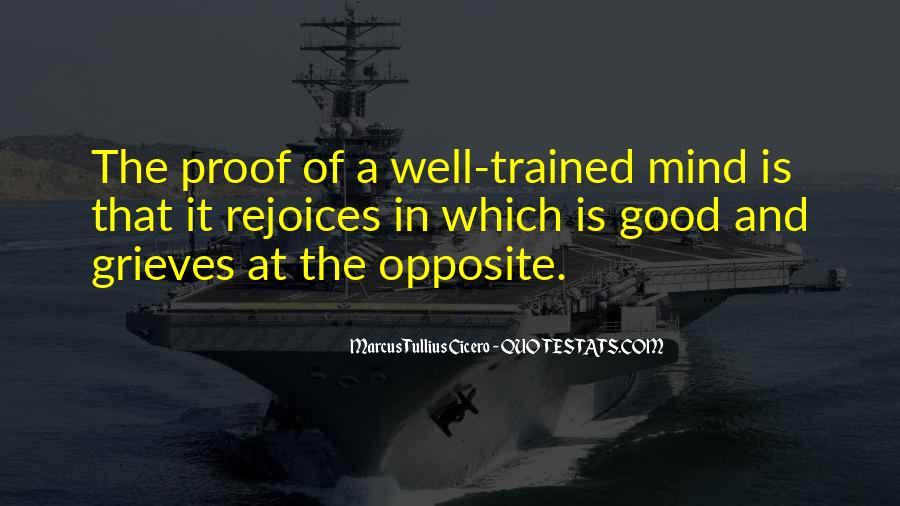 Trained Mind Quotes #1728239