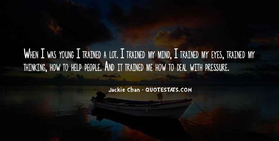 Trained Mind Quotes #300514