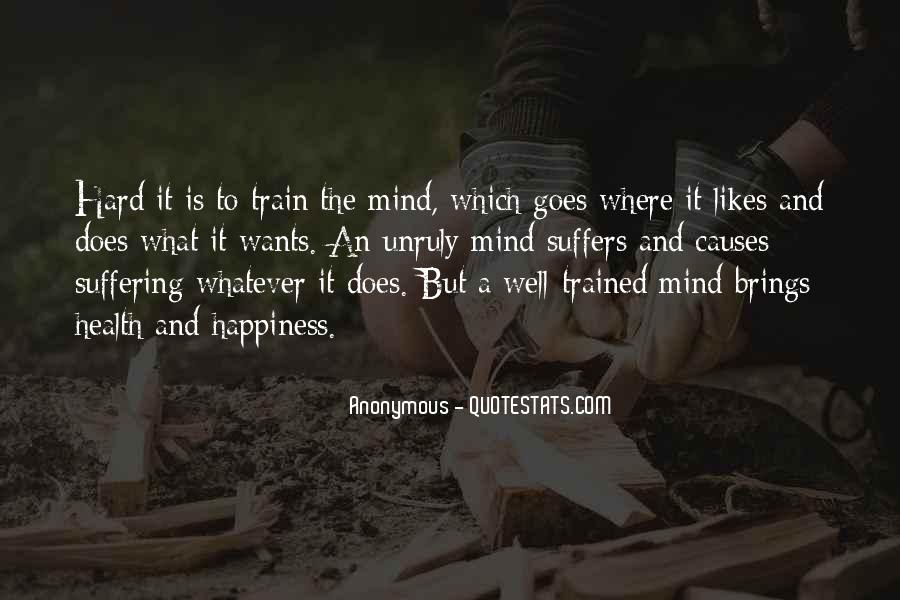 Trained Mind Quotes #415854