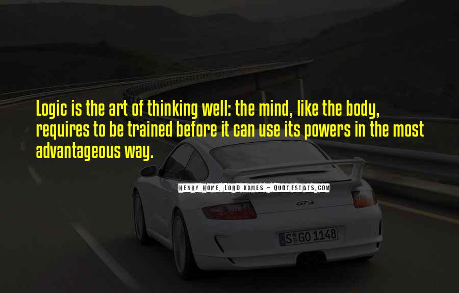 Trained Mind Quotes #712609