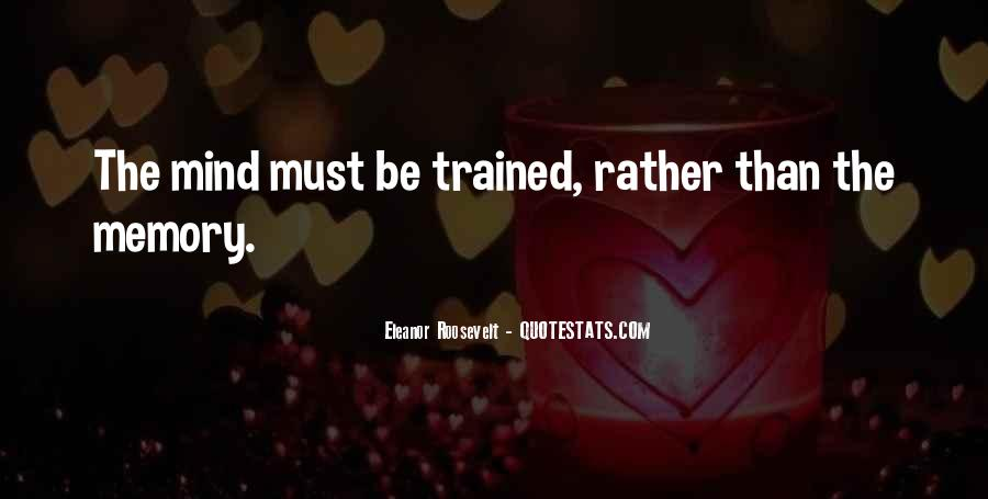 Trained Mind Quotes #810482