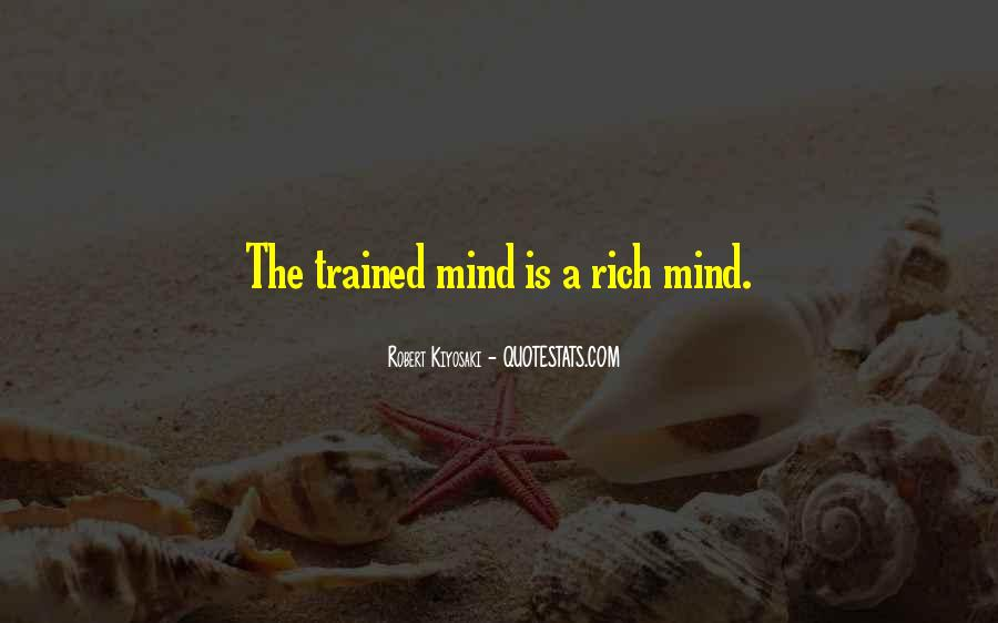 Trained Mind Quotes #872249