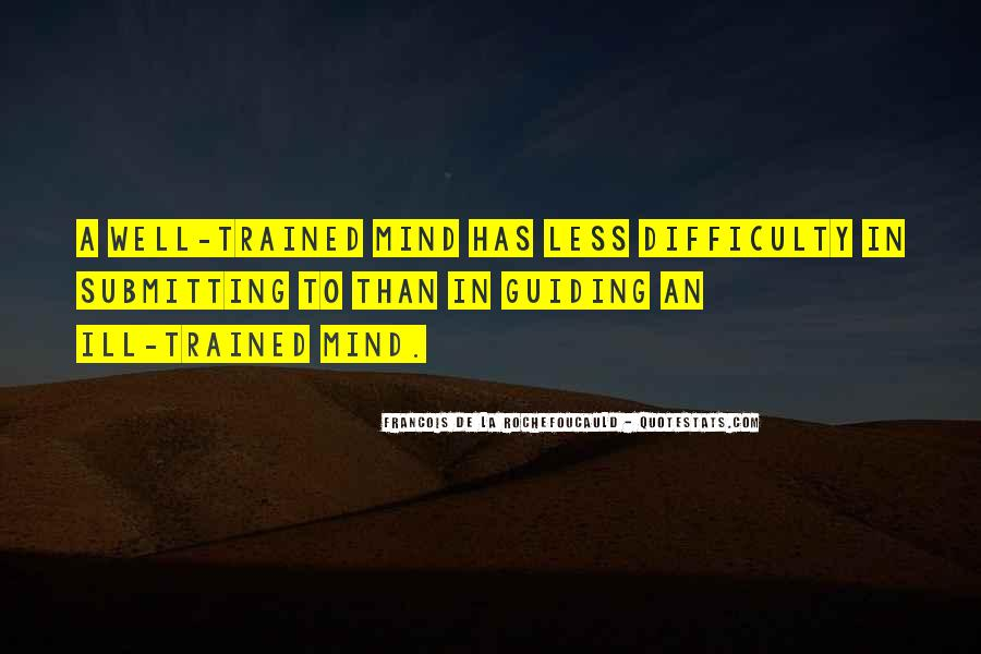Trained Mind Quotes #908991