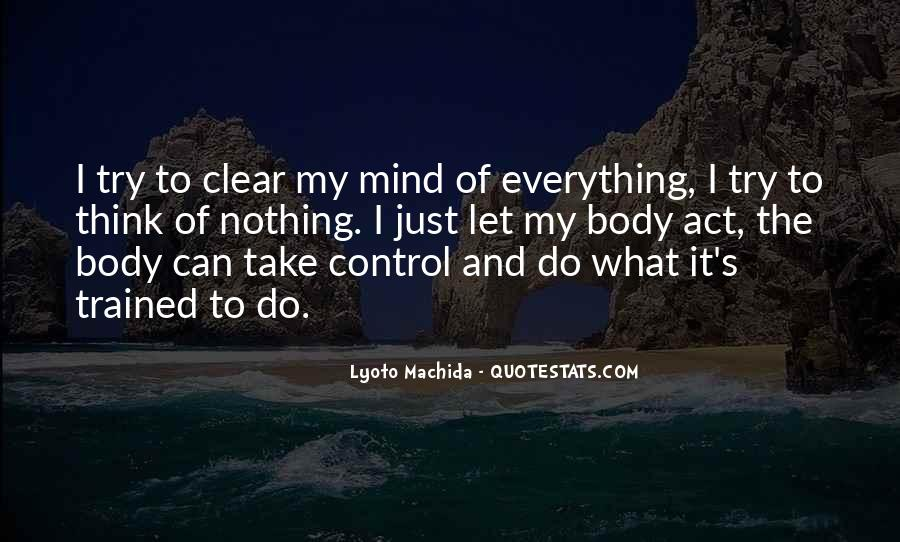 Trained Mind Quotes #957650