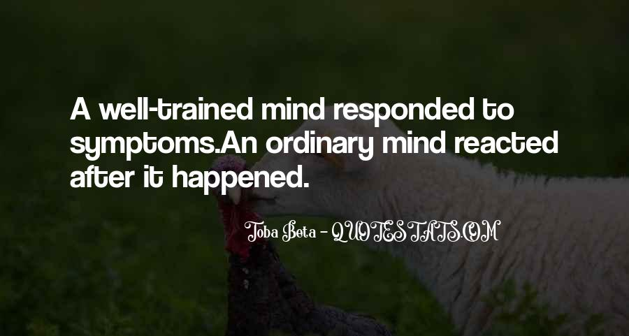 Trained Mind Quotes #958004
