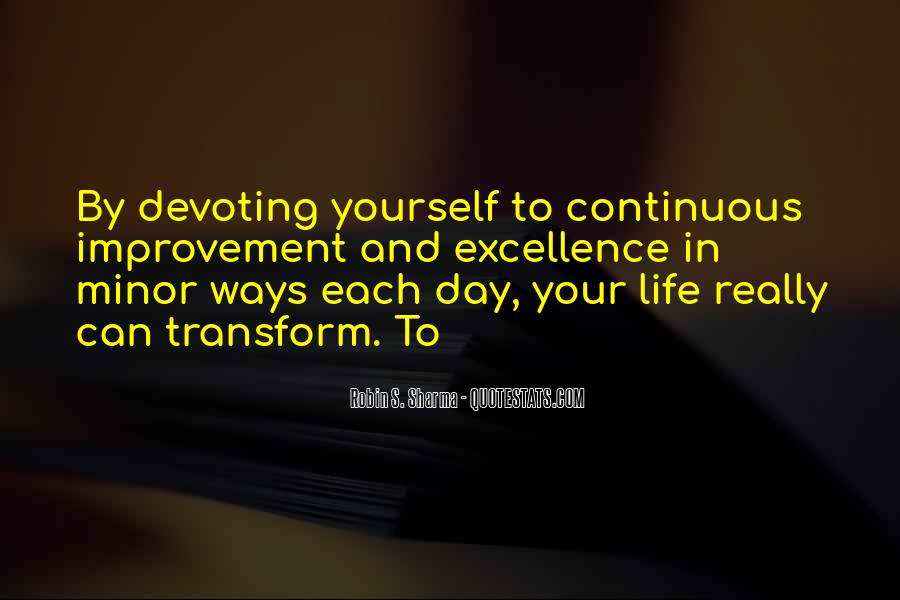 Transform Your Life Quotes #188644
