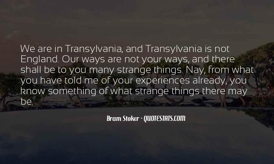 Transylvania 2 Quotes #1011763