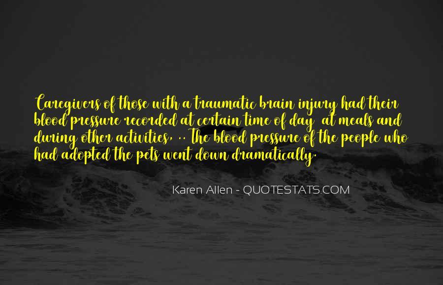 Traumatic Injury Quotes #1809416
