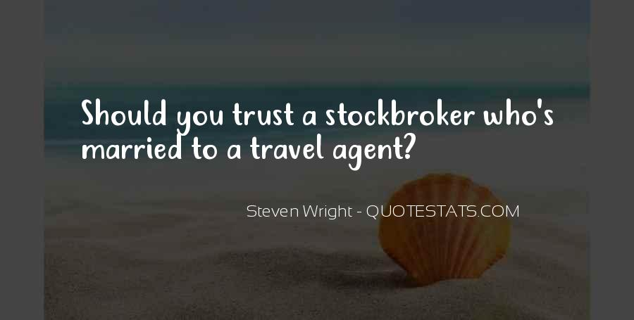Travel Agent Funny Quotes #738974