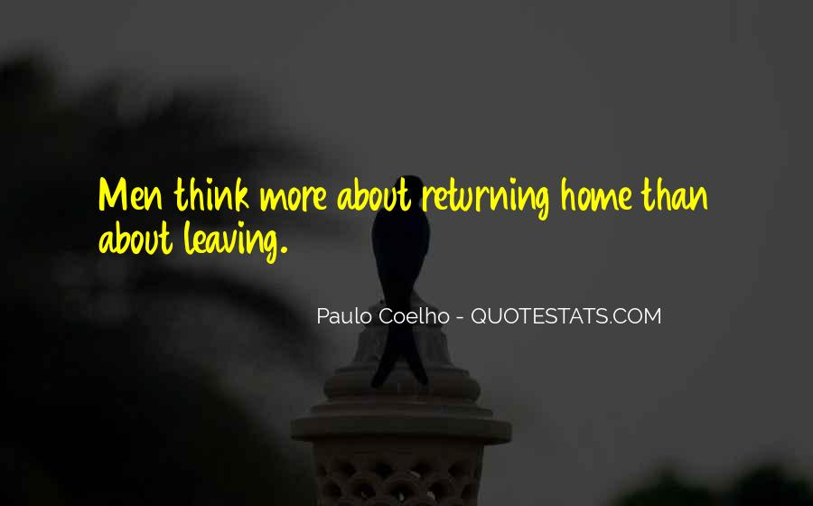 Travel And Returning Home Quotes #606309
