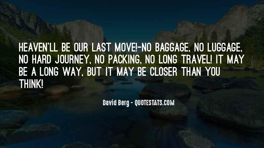 Travel Packing Quotes #428610