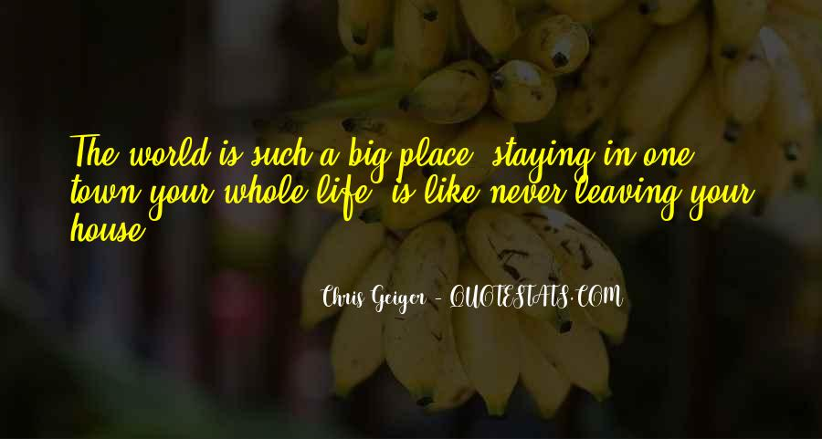 Travel The Whole World Quotes #1037785