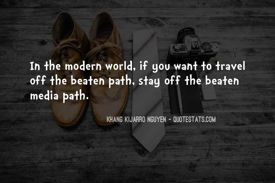 Travel The Whole World Quotes #111612