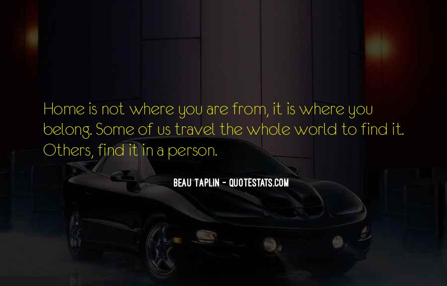 Travel The Whole World Quotes #1607923