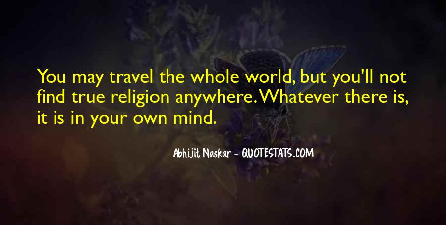 Travel The Whole World Quotes #1849135