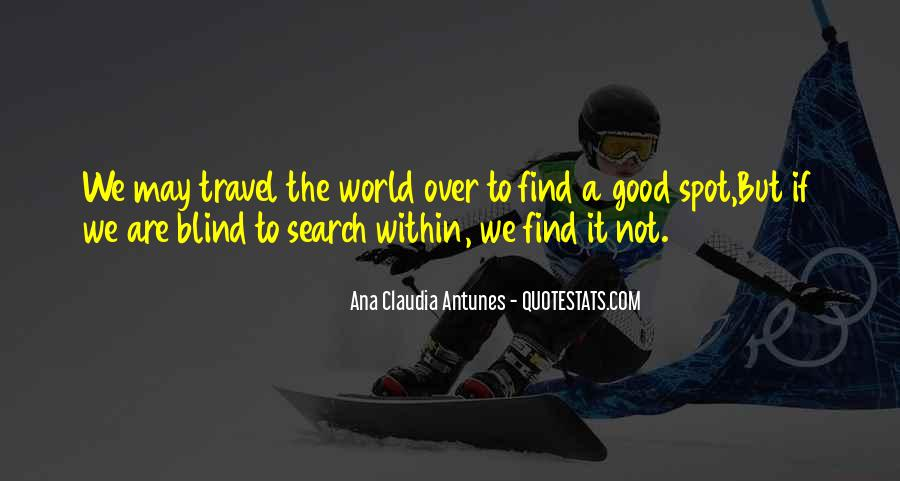 Travel The Whole World Quotes #55547