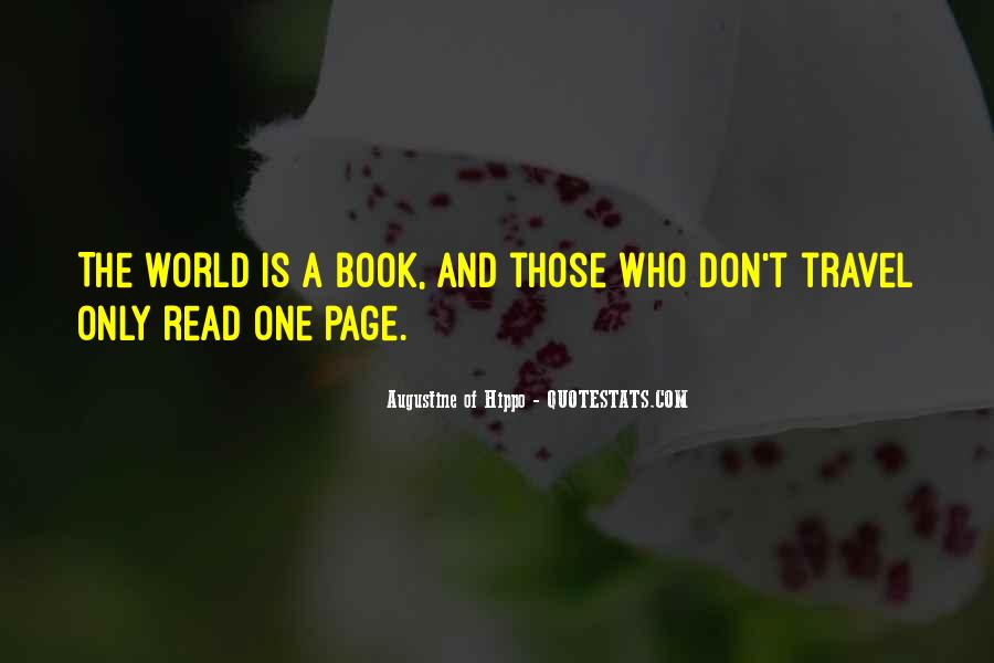 Travel The Whole World Quotes #83245