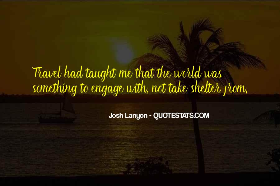 Travel The Whole World Quotes #85203