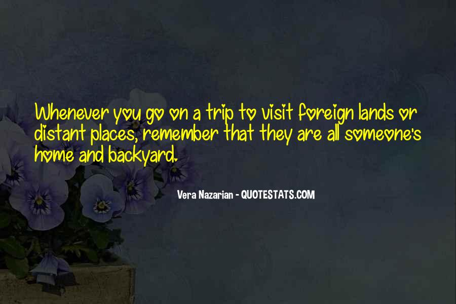 Travel Wanderer Quotes #27877