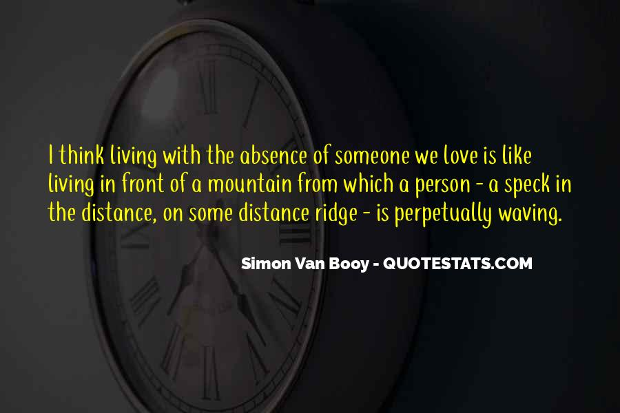 Quotes About Absence Of A Person #1013953