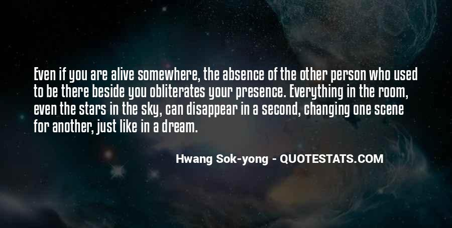 Quotes About Absence Of A Person #420758