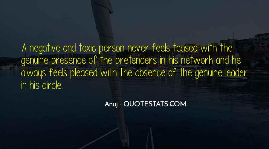 Quotes About Absence Of A Person #544627