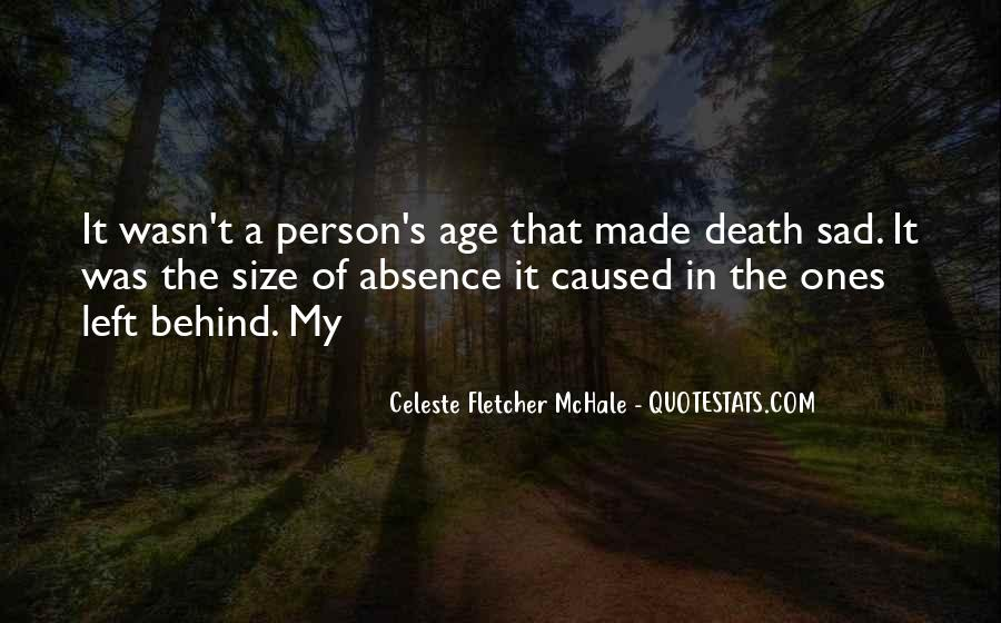 Quotes About Absence Of A Person #601870