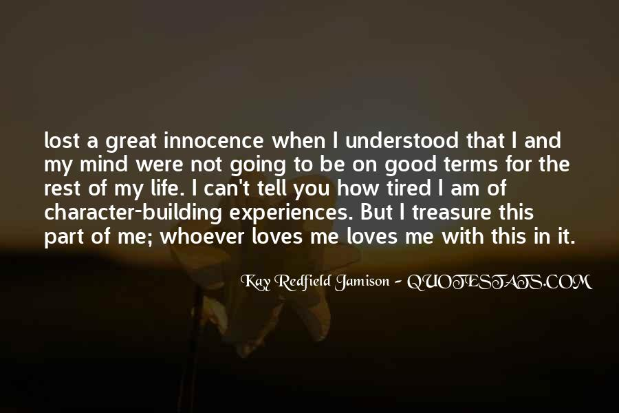 Treasure The One Who Loves You Quotes #39829