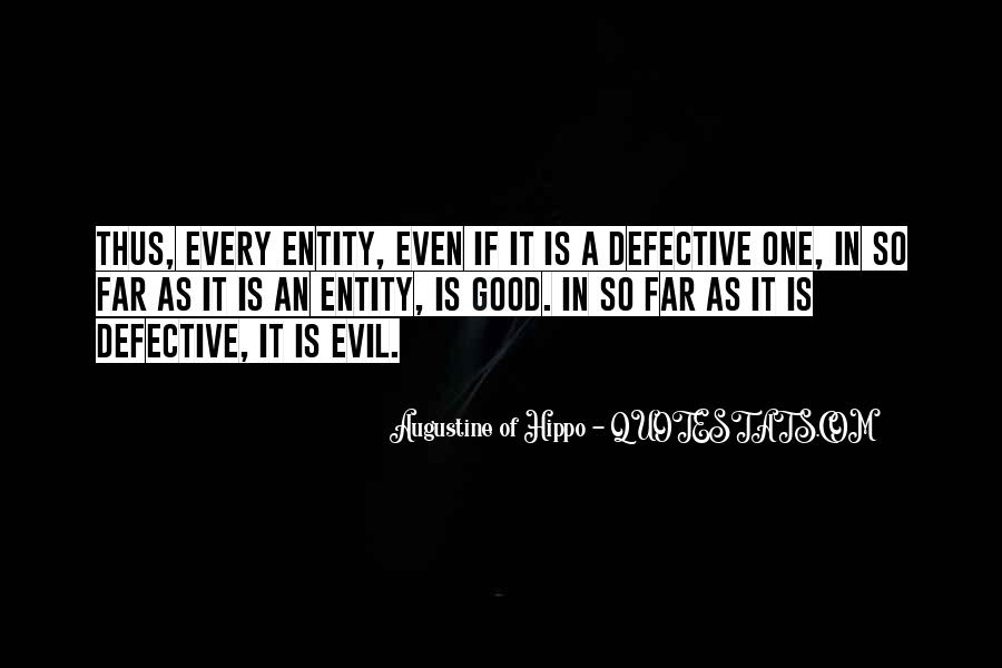 Quotes About Augustine Evil #1096656