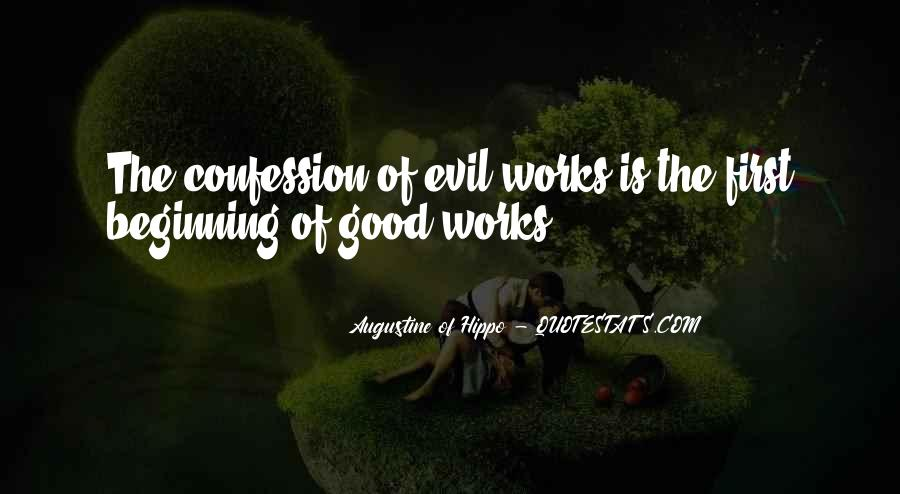 Quotes About Augustine Evil #1519032