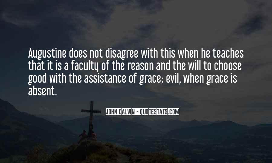 Quotes About Augustine Evil #1840190