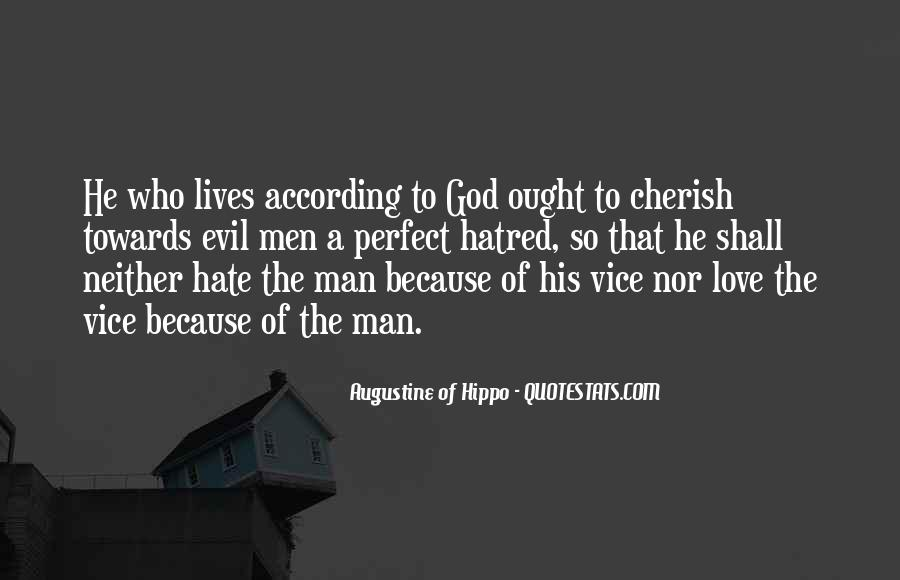 Quotes About Augustine Evil #217400