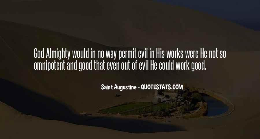 Quotes About Augustine Evil #412002