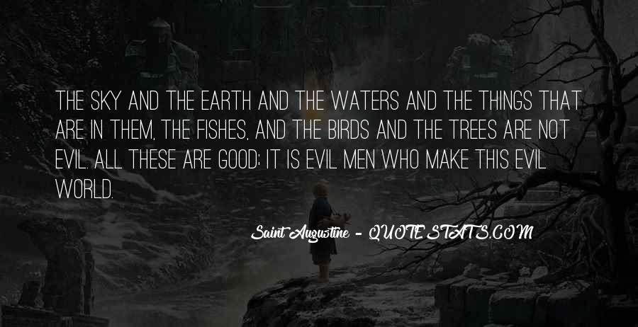 Quotes About Augustine Evil #615556