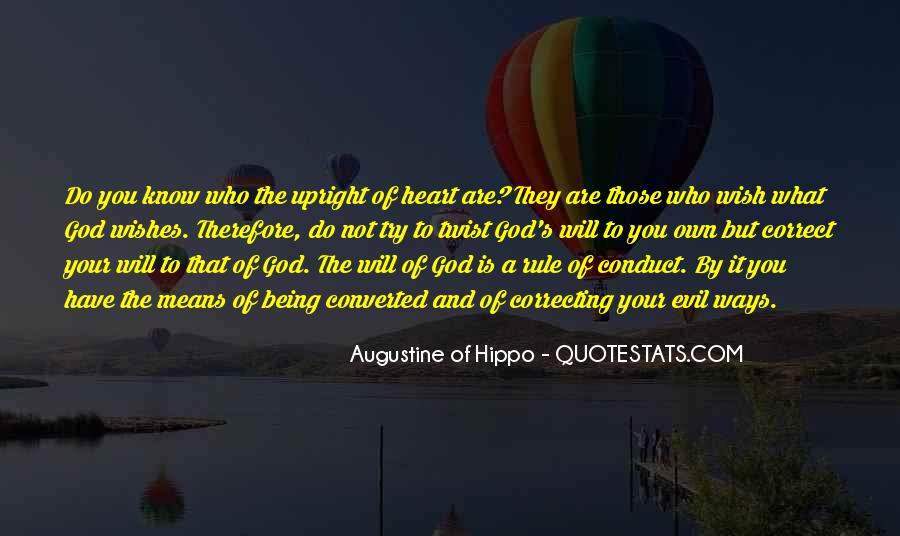 Quotes About Augustine Evil #631521