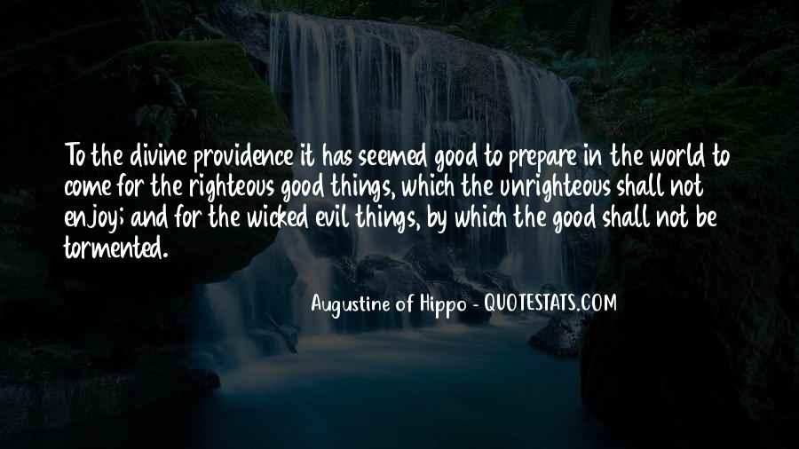 Quotes About Augustine Evil #929890